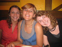Becca, Bri and me (friends from home).