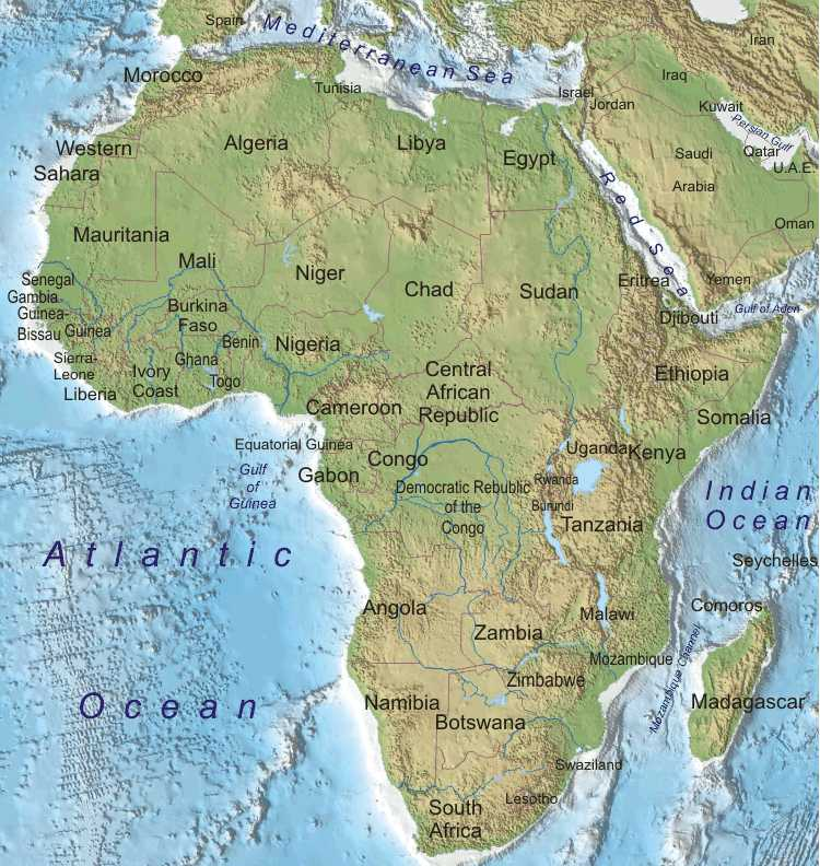 Physical Geography 101: Africa Assignment
