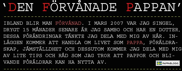 Den frvnade pappan