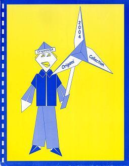 """Книга Коллекция схем оригами США 2004 Редакторы  """"Коллекции Оригами """" ."""