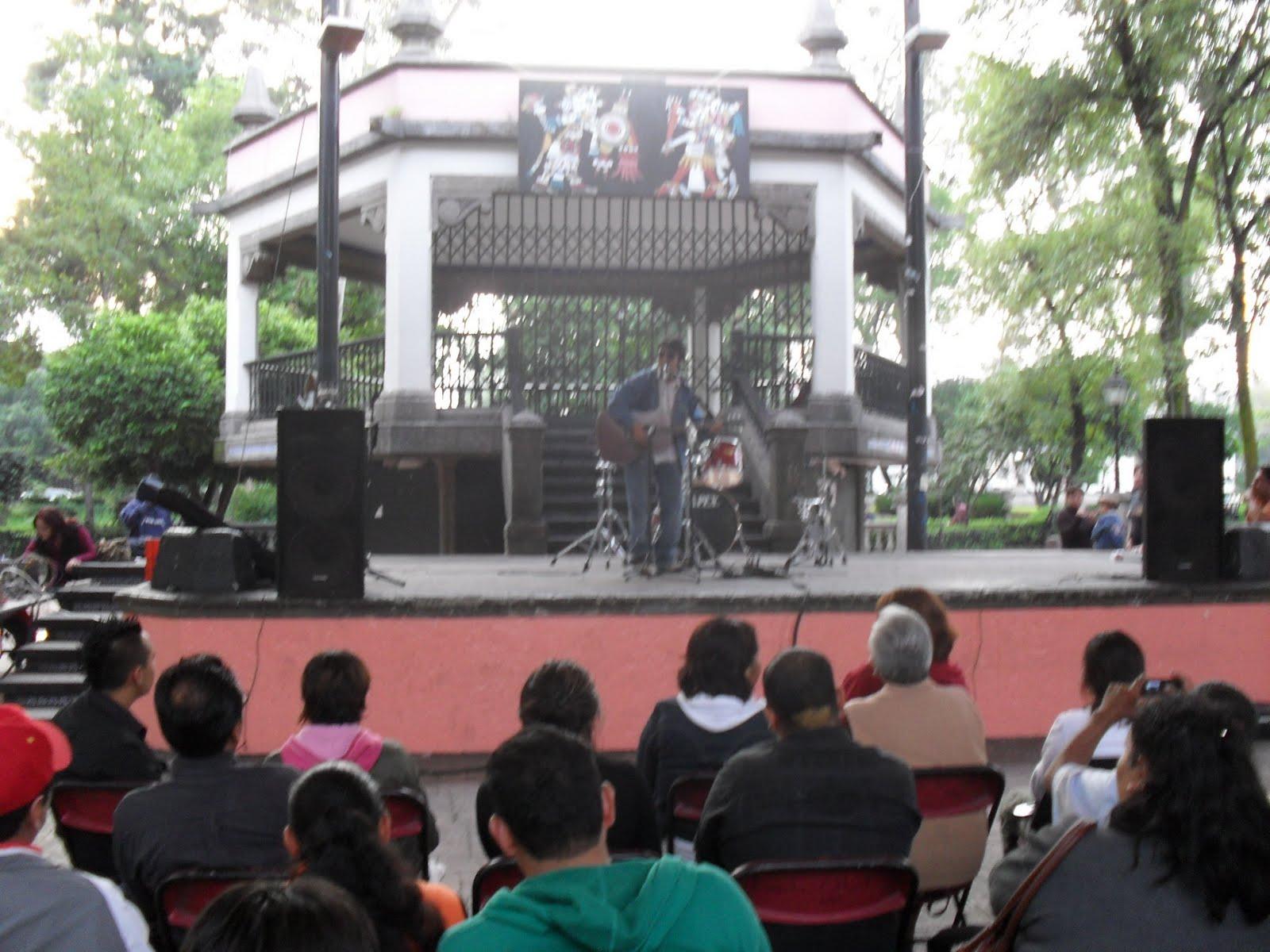 Cultura en azcapotzalco septiembre 2010 for Jardin hidalgo
