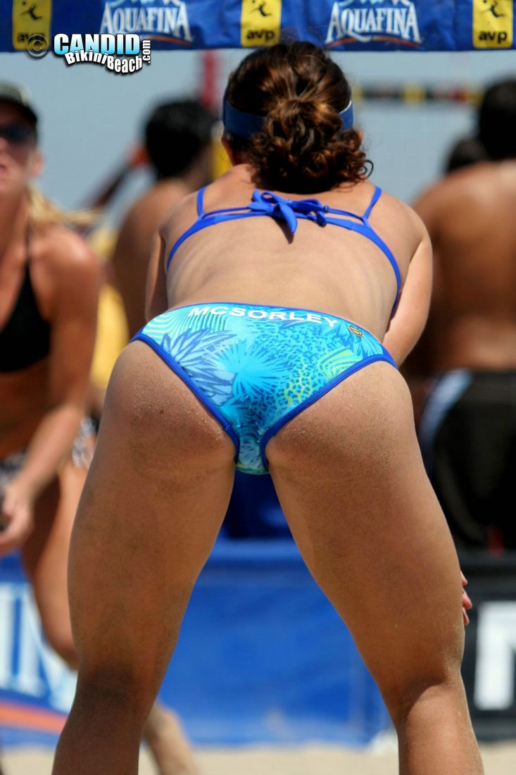 why beach volleyball, particularly the women's game, is so popular