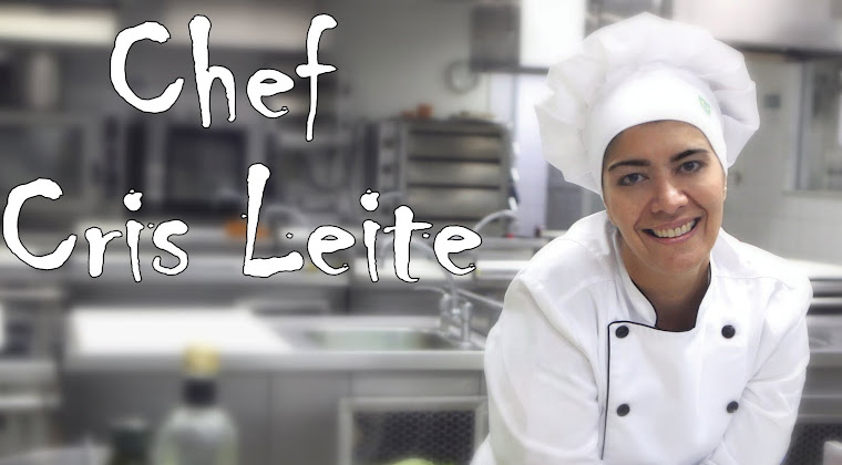 Receitas da Cris - Chef Cris Leite -Gastronomia, comida típica, comida brasileira, culinária, chef
