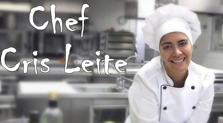 Suas Receitas - Chef Cris Leite - Gastronomia, comida típica, comida brasileira, culinária, chef