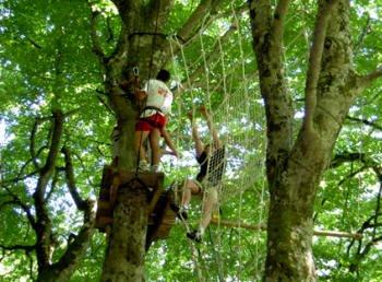 LE PARCOURS ACROBATIQUE FORESTIER (PISSOS)