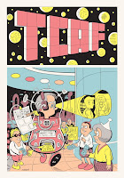 TCAF 2010 Poster by Daniel Clowes