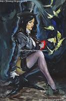 Zatanna by Alina Urusov (2009)