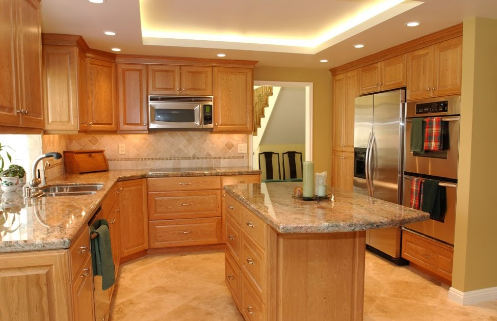 Natural Wood Kitchen Cabinets Mader Cabinet Co Cherry
