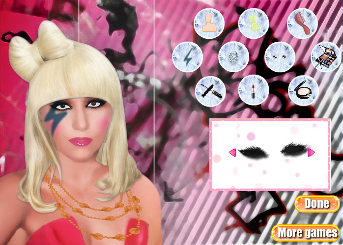 Dress Up Lady Gaga