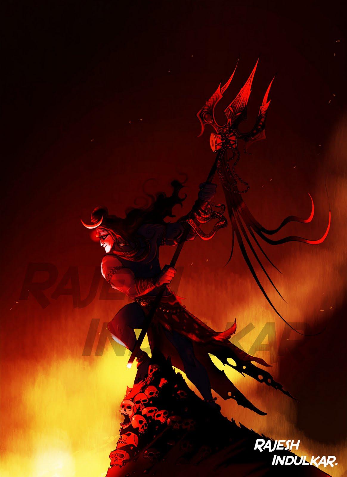 Lord Shiva Angry Lord shiva angry animated
