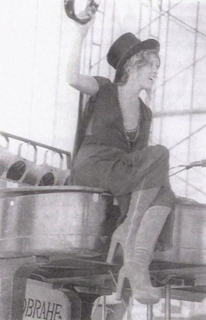 Stevie Nicks Platform Boots