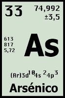 formula del arsenico