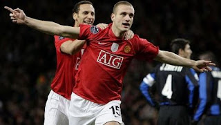 Nemaja Vidic, vidic, vidic celebration, Vidic and ferdinand, Rio ferdinand and vidic