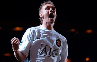 fletcher believes rooney never leave man united, fletcher celebration