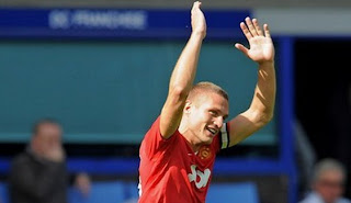 new captain man united, vidic captain, nemanja vidic man united wallpaper