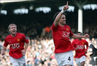 owen hargreaves manchester united celebrations