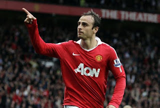 Dimitar Berbatov Player of the Month award, september