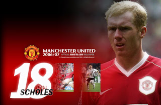 manchester united scholes wallpaper