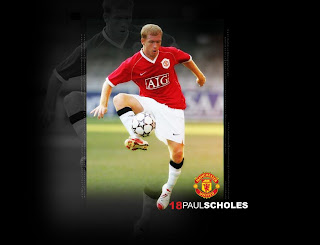 man utd paul scholes wallpaper
