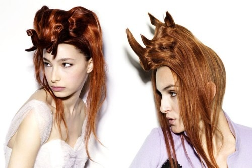 Νagi Noda Bizarre Animal Hair Hats