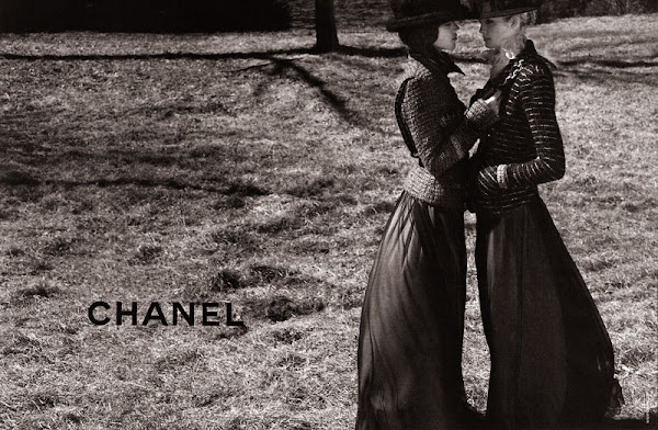 Chanel A/W2009/2010 ad campaign shot by Karl Lagerfeld
