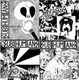 Subhumans subhumans ep lp 1986 uk