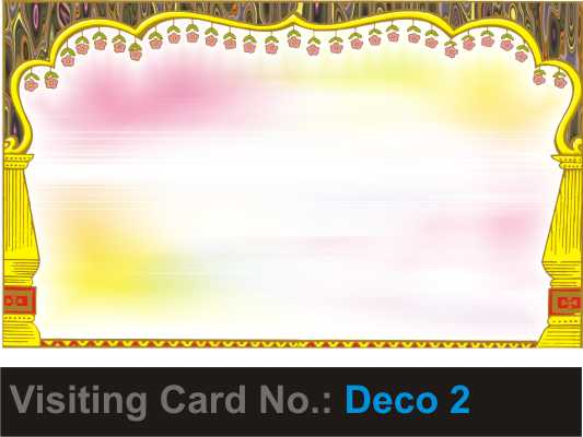 We design and print everything visiting card designs for decorators visiting card designs for decorators junglespirit Gallery