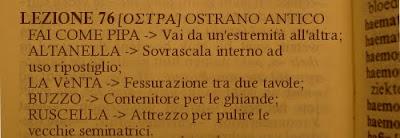 ostra,dialetto ostrano