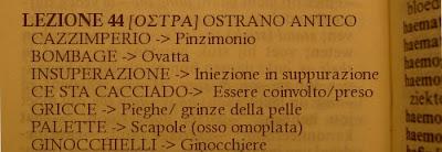Ostra:ostrano antico,dialetto,lez44