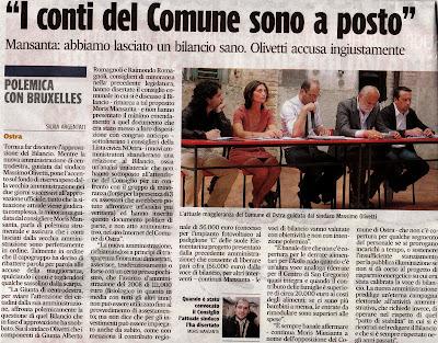 CLICCAMI x  INGRANDIRE,Ostra,Corriere adriatico,7 settembre 2009