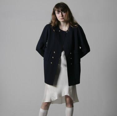80's Navy Chanel Jacket -$ 398