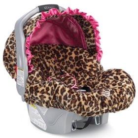 Infant Car Seat Covers Leopard Print