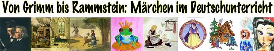 Deutsche Märchen von Grimm bis Rammstein