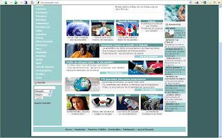 La enirpaĝo de Ĝangalo je 2007-08-29