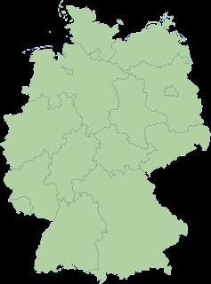 Germanujo reunuiĝinta kun 16 federaciaj landoj