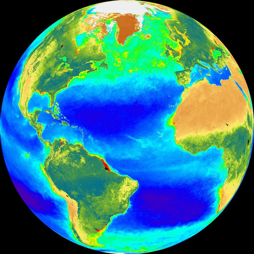 Resultado de imagen de Un mapa global de los flujos de calor desde la superficie oceánica hasta las capas profundas muestra claramente máximos longitudinales a lo largo del ecuador y a lo largo de aproximadamente 45º S