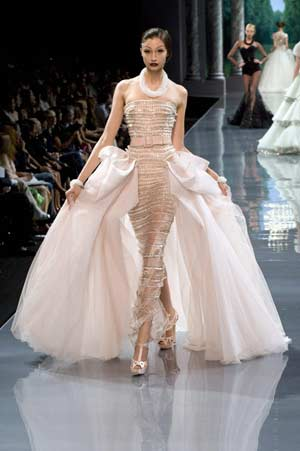 Fashion cotour haute couture for Haute couture fashion house