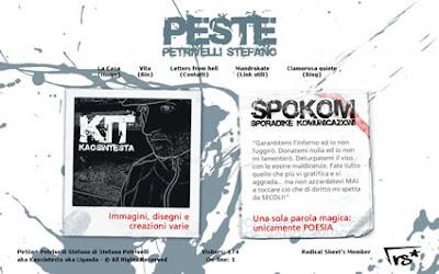 PeSte - Sito Personale di Stefano Petrivelli - Poesia, Grafica, Illustrazione