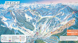 Stevens Pass Trail Map