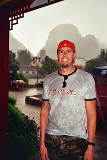 Soaked from being caught in a downpour in Yang Shuo