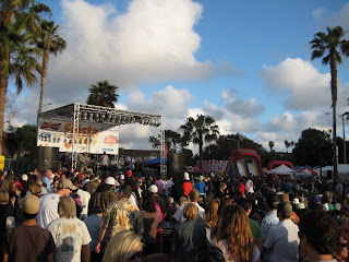 Skanic playing at the Fiesta Del Sol in Solana Beach