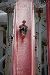 Noah on Straight Shot at Soak City