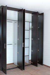 Closets y vestidores closet muestra para constructora for Closets de vanguardia