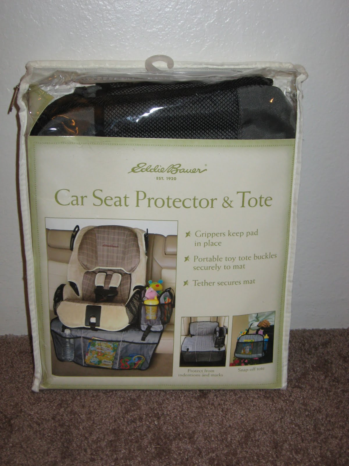 Eddie Bauer Car Seat Protector And Tote