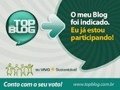 # INDICADO  AO TOP BLOG #
