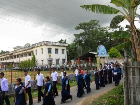 Dhana Singh Choudhury Memorial H S School: August 2010