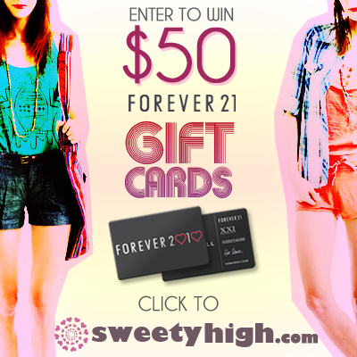 Diary of a Young Designer: Win a Forever 21 Giveaway!!