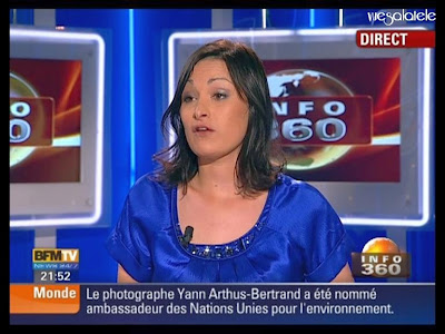 vuesalatele: Marjorie PAILLON – BFM TV – 2009 04 22