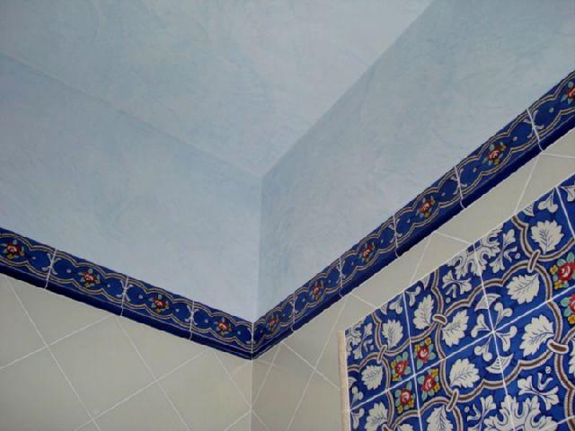 Bagni In Marmorino : Claudio caruso decorazioni: bagno: decorazione marmorino lucido