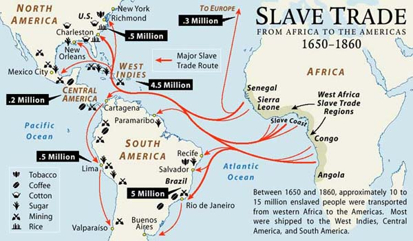 discussion about slave trade In the 1560's, sir john hawkins pioneered the way for the slave triangle that would take place between england, africa, and north america while the origins of the slave trade from africa can be traced back to days of the roman empire, hawkins voyages were the first for england the country.